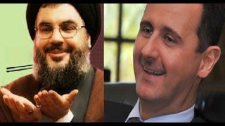مغامرة وتشويق .. بشار الأسد مع ثلاثة عناصر فقط قطع الحدود والتقى نصر الله في الخيمة !