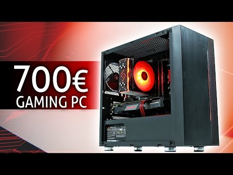 700 Euro GAMING PC 2020 | TEST & Zusammenbauen!