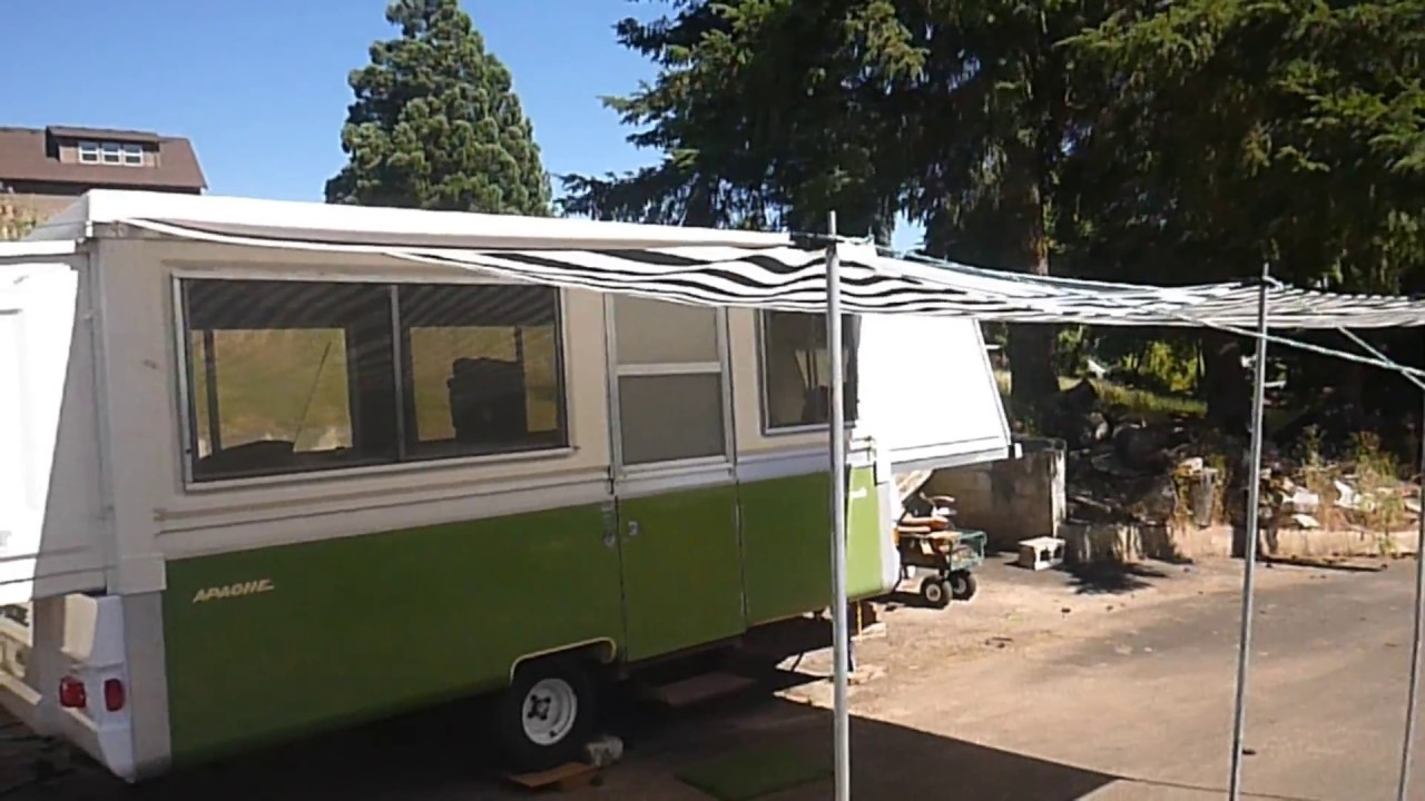 How To Install An Inexpensive Awning On An Apache Camper