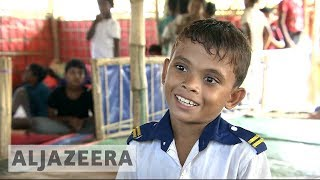 UNICEF centres are havens for Rohingya child refugees