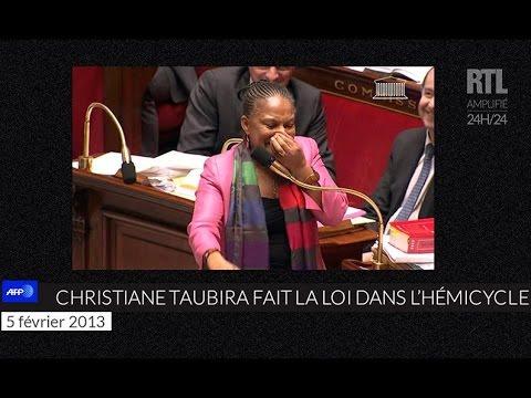 Quand Christiane Taubira faisait le show à l'Assemblée nationale