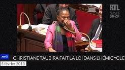 Quand Christiane Taubira faisait le show à l'Assemblée nationale - RTL - RTL