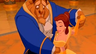 beauty and the beast 1991 official music video celine dion peabo bryson