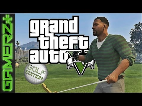 GTA V - Franklinův golfový loket