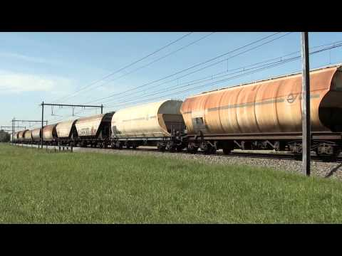 French Freight Loco 467529 on Belgian Metals at Desselgem 07.05.11