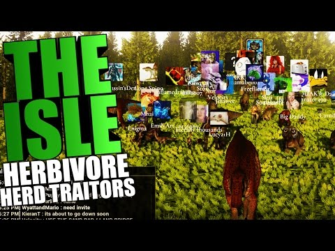 The Isle - EPIC HERD MIGRATION EVENT, DEALING WITH HERBIVORE TRAITORS - The Isle Gameplay