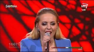 """Kristina Radžiukynaitė sceną sudrebino grupės """"Sel"""" daina """"Aš žiūriu į tave, pasauli"""" (2014)"""