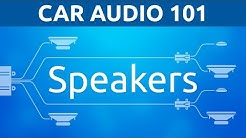 Speakers: General | Car Audio 101