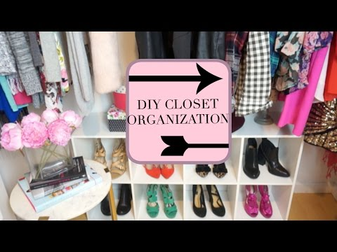 DIY CLOSET ORGANIZATION & MAKEOVER: IKEA, COSTCO, TJMAXX