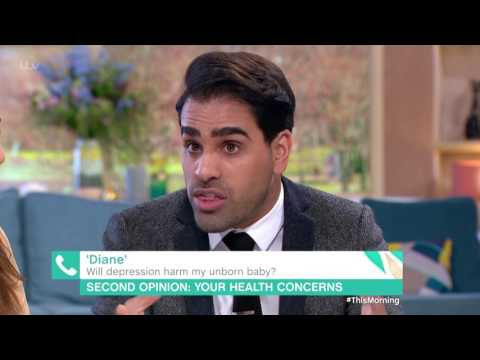 Will Antidepressants Harm My Unborn Baby? | This Morning