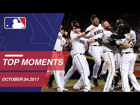 Check out 10 moments from the NL Wild Card Game