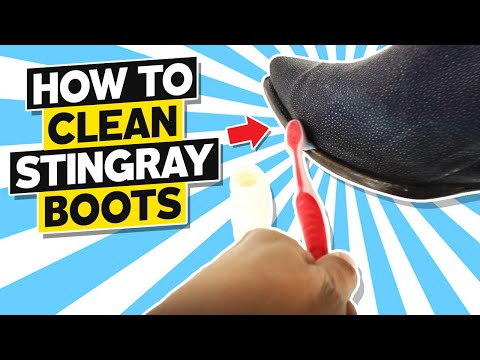 How To Clean Stingray Boots