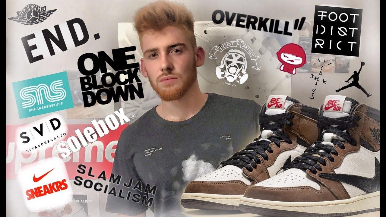 3156aa8f53 Travis Scott Jordan 1 ▷ Nike App Not Working After Travis Scott... ▷ Shotoe