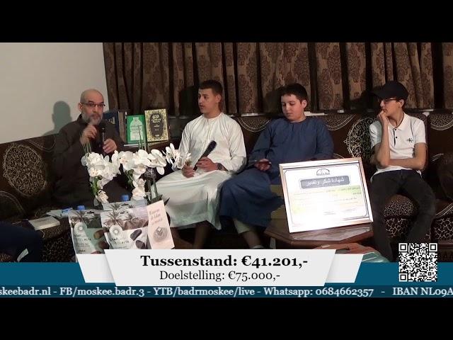 Ramadanbenefiet Moskee Badr