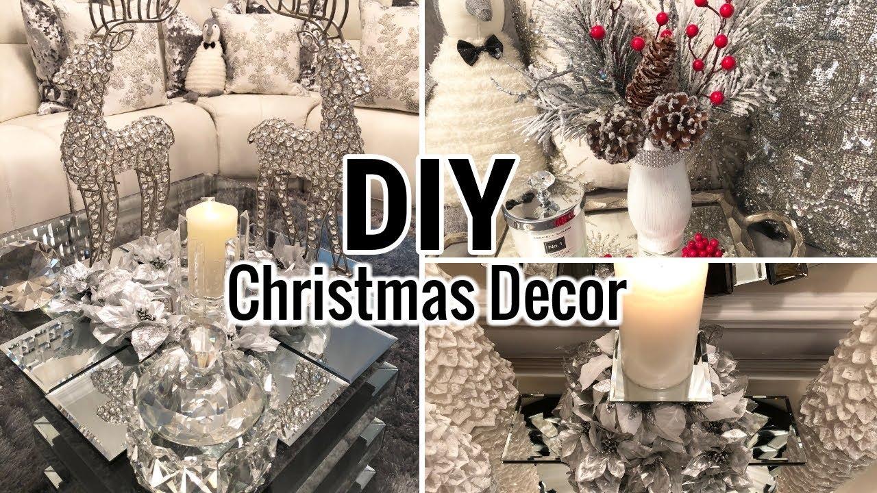 Diy Dollar Tree Christmas Glam Decor 2018 Dollar Tree