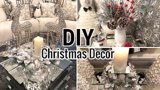 DIY Dollar Tree Christmas Glam Decor 2018 | Dollar Tree DIY Glam Decor Ideas