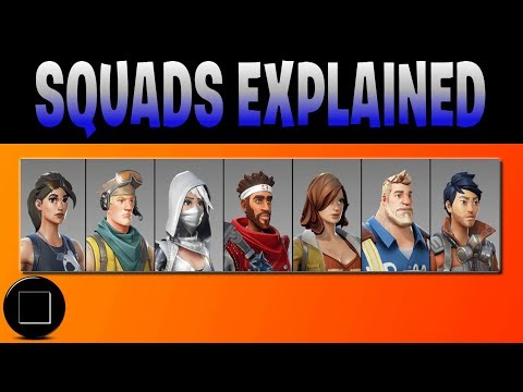 Fortnite - Save The World (Squads Explained)