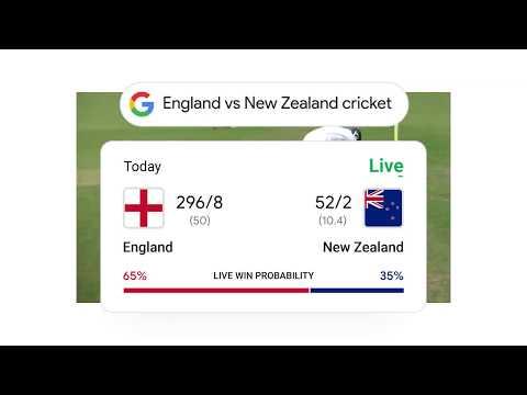 Cricket: Live Scores & Live Win Probability