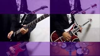 X JAPAN - Silent Jealousyを弾いてみた -Guitar/Bass cover 【~完コピに向かって~】 Yoshiyuki