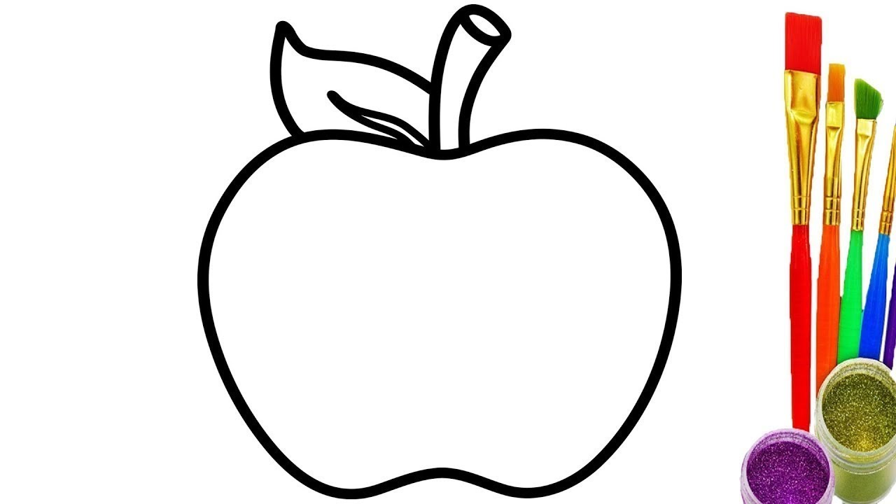 How To Draw Apple