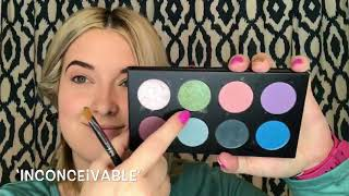 Green and Gold Makeup Tutorial | Jenessa