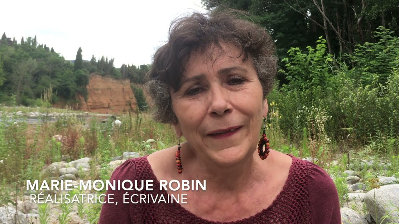 Marie-Monique Robin s'exprime contre le project de pont à Céret