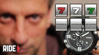Nixon 7 Item Giveaway with Tony Hawk - RIDE Channel 777