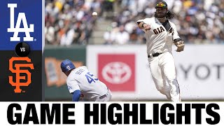 Dodgers vs. Giants Game Highlights (7/29/21)