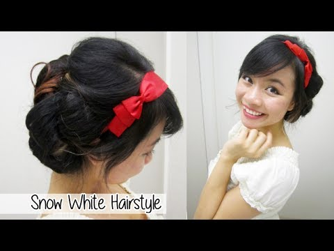 snow white updo youtube