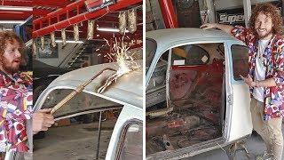 Así se ve mi auto viejo después de destruirlo... | Bvochidísimo