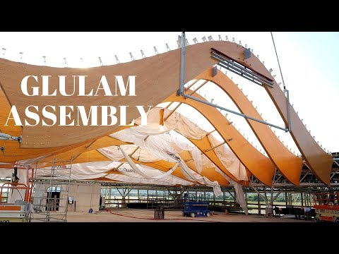 Glulam Structure Pt.2 - Primary Beam Structure Assembly