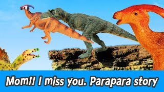 [EN] Mom! I miss you. Parapara story!! dinosaurs adventure, dinosaurs names, collectaㅣCoCosToy