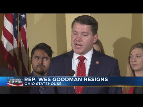 Ohio State House Rep. Wes Goodman resigns after 'inappropriate behavior'