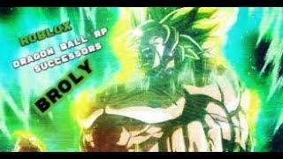 Roblox | Dragon Ball RP: Successors - Legendary Super Saiyan Fan-Made Transformation!