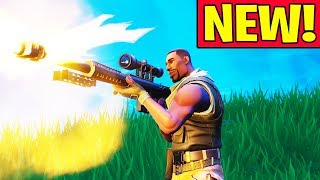 NEW HEAVY SNIPER = BROKEN?! (Fortnite Battle Royale Heavy Sniper Win Gamelay)