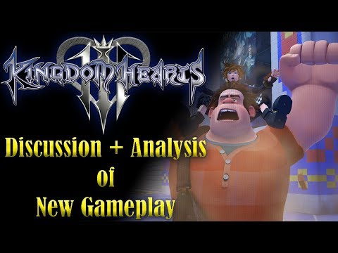 Discussing & Analyzing the New Kingdom Hearts 3 Gameplay Footage!