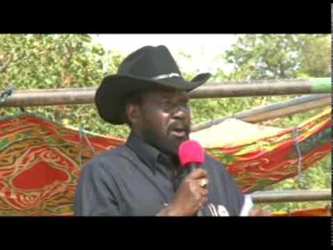 President Salva Kiir Campaign Rally in Mapel, Western Bahr El Ghazal State