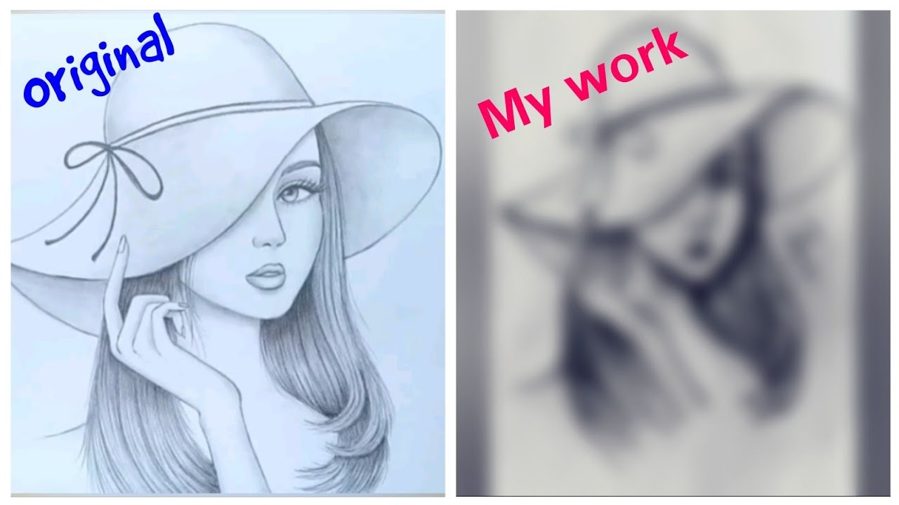 RECREATED FARJANA DRAWING ACADEMY SKETCHES - YouTube