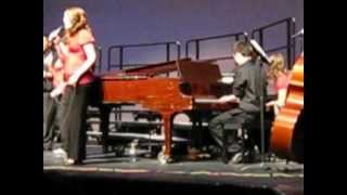 Conner Boss Piano Solo - Broken Heart Blues - Moses Lake High School Jazz Choir