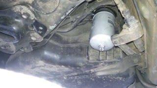замена топливного фильтра volvo xc 90