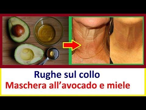 Rughe Sul Collo: Maschera All'avocado E Miele | Salute E Vita 24