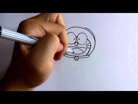 วาดการ์ตูนกันเถอะ สอนวาดการ์ตูน โดราเอม่อน ง่ายๆ