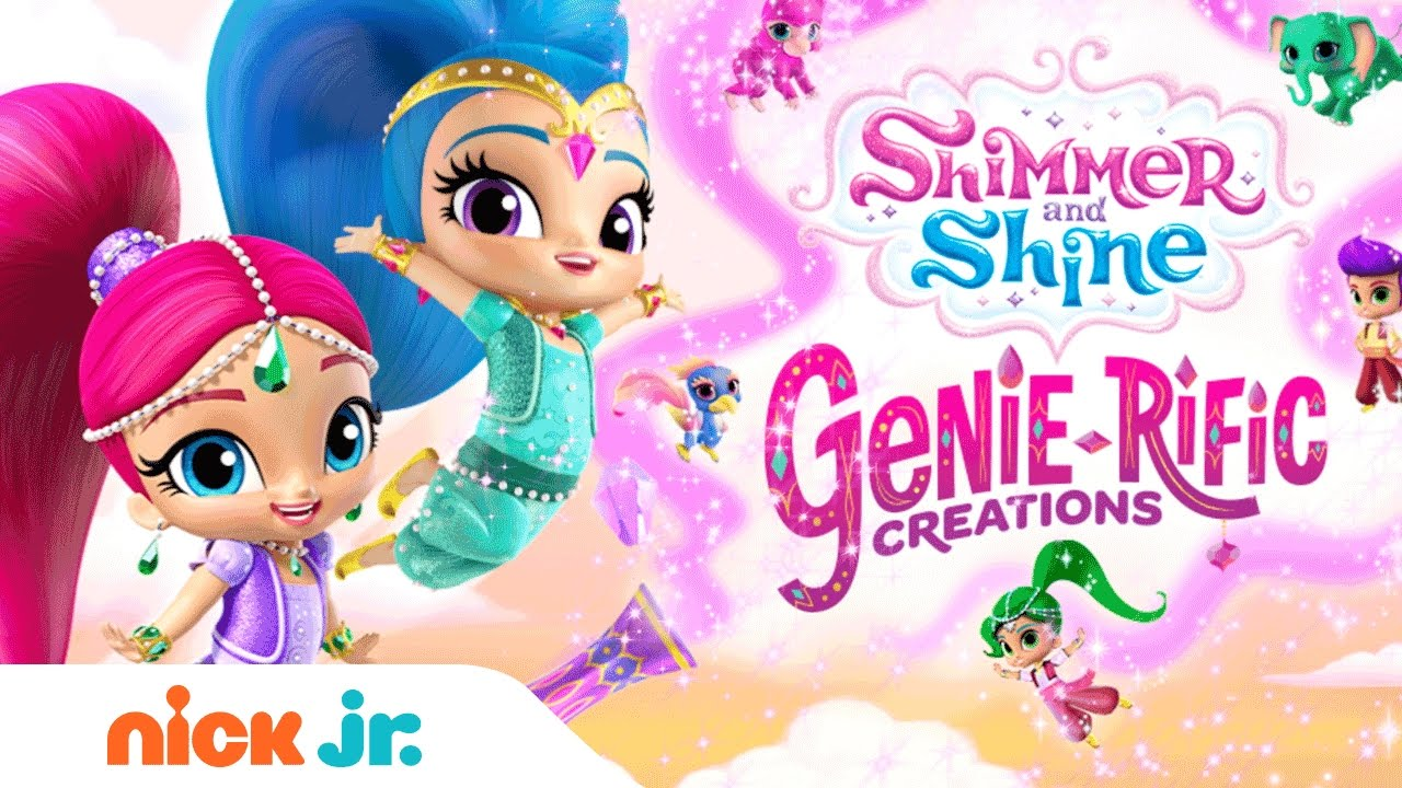 290edfbd9d Shimmer and Shine | 'Genie-rific Creations' Dress Up Game | Nick Jr ...