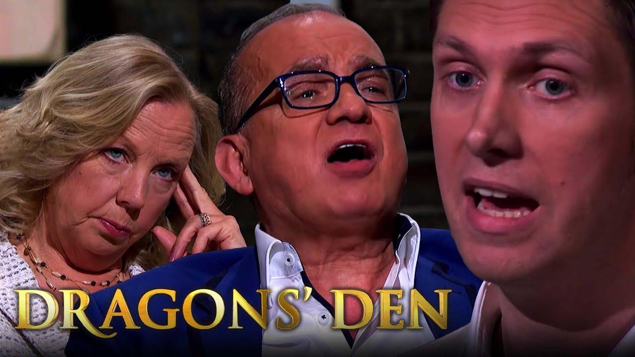 Touker Makes Entrepreneur Taste His Terrible Coffee Dragons Den