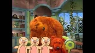 just reading a book by steve charney from bear in the big blue house