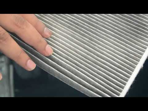 AC Filter / Cabin air filter cleaning - Ford Fiesta
