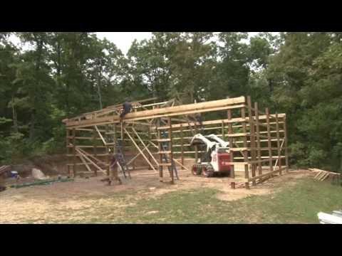 Lone Oak Buildings - Constructing a Pole Barn
