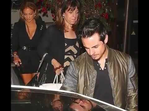 Jennifer Lopez enjoys a dinner date with Casper Smart after taking home gong at MTV Movie Awards