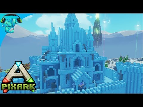 PixARK - Fertilizer Farming Factory and Ice Palace Battles for Level Ups! E14