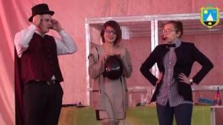 Научно-познавательное шоу в подарок школьникам Сергеевки от поселкового совета.